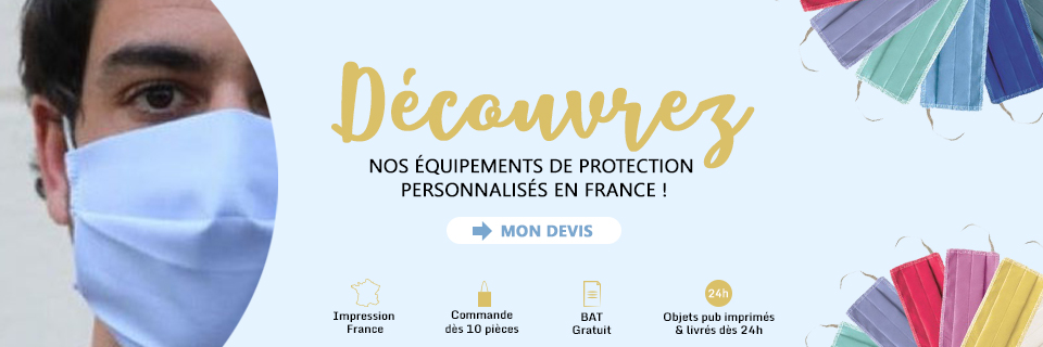 Special COVID-19 : masques de protection !